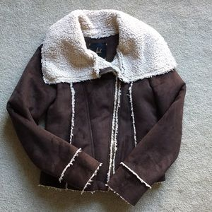 Bb Dakota Jack faux sherpa jacket
